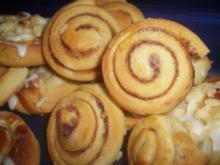 Süße Mini-Zimtschnecken - Rezept