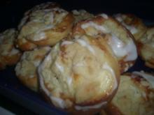 Quark-Pudding-Streusel-Schnecken - Rezept