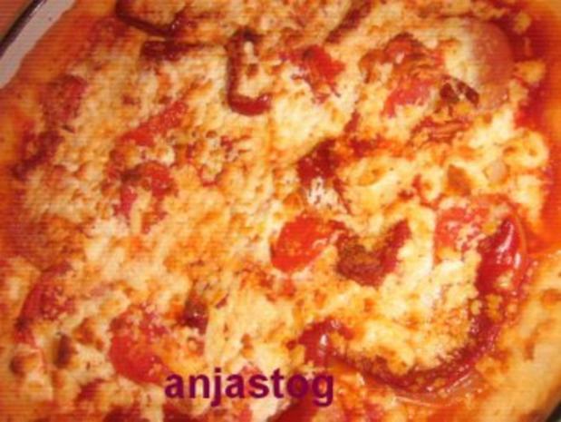 Pizzateig  ohne Hefe - Rezept - Bild Nr. 7