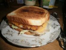 """""""kleiner Snack""""-Fischstäbchen-Sandwich - Rezept"""