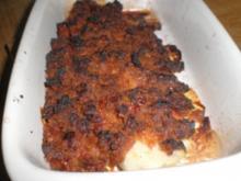 Pangasiusfilet mit Tomaten/Mozarella/Basilikumkruste - Rezept