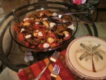 Tomatoe und Aubergine Gratin - 150 Kal. ohne Fleisch sehr lecker mit einem Steak oder Fish - Rezept