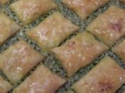 Fistikli Baklava - Rezept