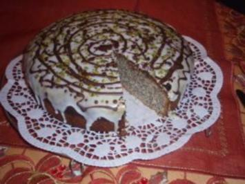 Kuchen: Mohn - Amaretto - Kuchen - Rezept