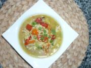 Hühnersuppe asiatisch angehaucht - Rezept