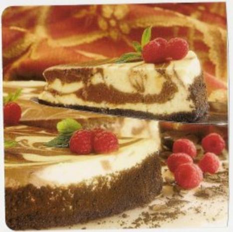 Marmor -Käse -Kuchen - Rezept