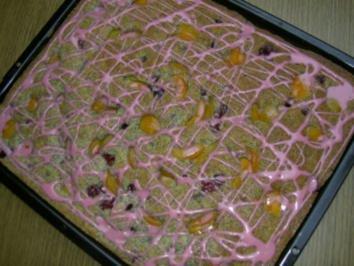 Kuchen  -  Mohn-Blechkuchen - Rezept