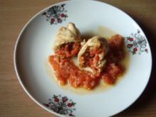 Hähnchenrollen gefüllt aus der Türkei - Rezept
