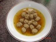 Suppen  :  Leberknödel - Rezept