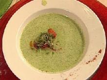 Garten-Kressesuppe mit Chorizo - Rezept