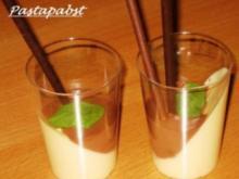 Zweifarbige Mousse - Rezept