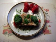 Hänhnchenbrust - Paprika - Schnitte - Rezept