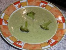 Süppchen: Broccoli-Suppe - Rezept