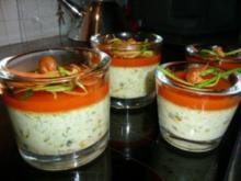 "GLASFOOD 8:Huhn-Zuccini ""Souffle"" - Rezept"