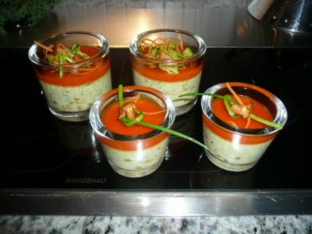 "GLASFOOD 8:Huhn-Zuccini ""Souffle"" - Rezept - Bild Nr. 2"