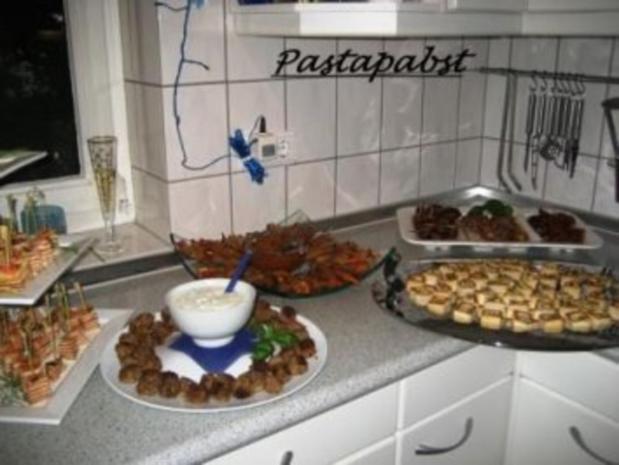 Fleischbällchen an Koriandersauce - Rezept - Bild Nr. 4