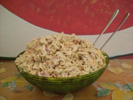 Würziger Nudelsalat - Rezept