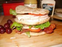 Broetchen - Amerikanisches Golf Broetchen fuer mein Mittagessen am Golfplatz - Rezept