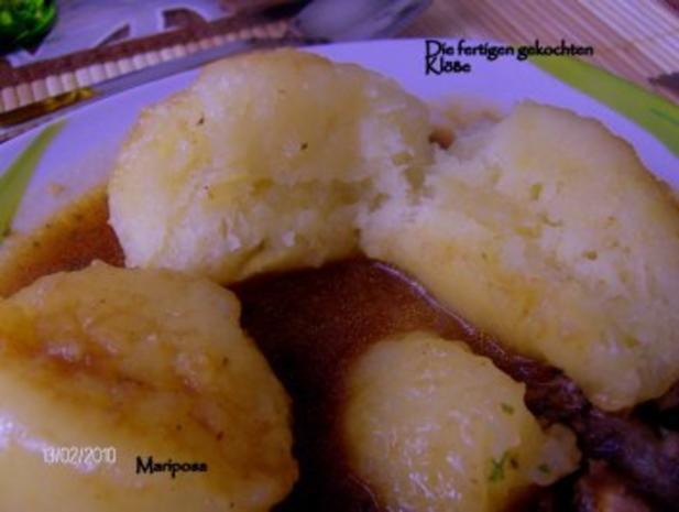 Kartoffelknödel selbstgemacht, nach meiner Art - Rezept