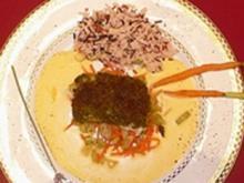 Zander in Lavendel-Kruste auf Fenchel und Sellerie an Zitronenhollandaise - Rezept - Bild Nr. 25