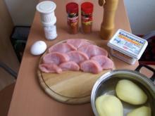 Putensteak im Kartoffelmantel - Rezept