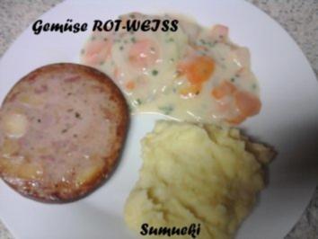 Gemüse ROT-WEISS - Rezept