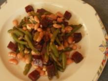Bohnensalat: Grün-Weiß-Rot - Rezept