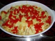 Überbackene Pfannekuchen - Rezept