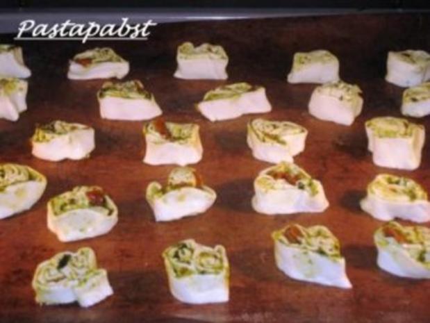 Rucola-Tomaten-Pesto Schnecken - Rezept - Bild Nr. 4