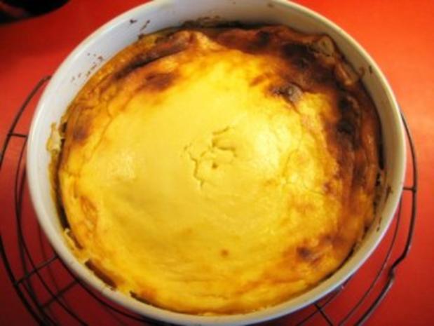 Quark - Frischkäse - Kuchen ohne Boden - Rezept - Bild Nr. 7