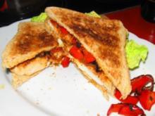 Hähnchenfilet-Sandwich - Rezept