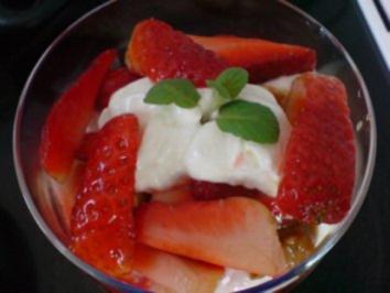 Erdbeer-Becher - Rezept