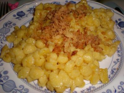 Allgäuer Kässpatzen - Rezept