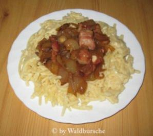 Hessische Käsespatzen - Rezept