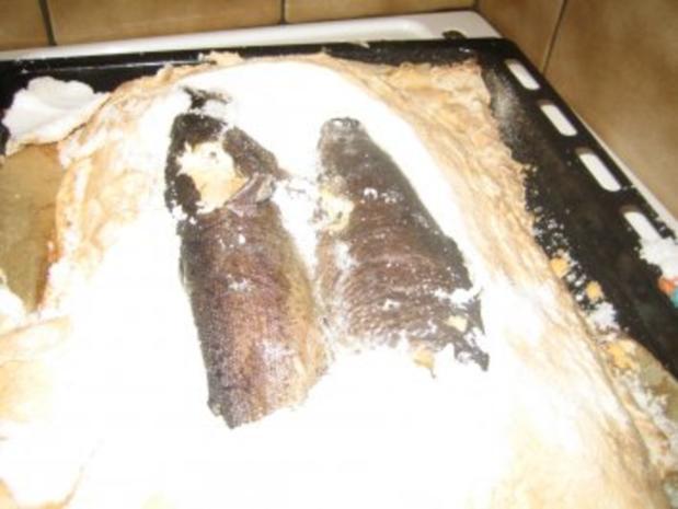 Fisch – Forelle im Salzmantel - Rezept - Bild Nr. 4