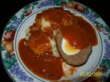 Vogel-Nest in Tomatensoße - Rezept