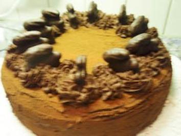 Torte: Orangen-Trüffel-Torte - Rezept
