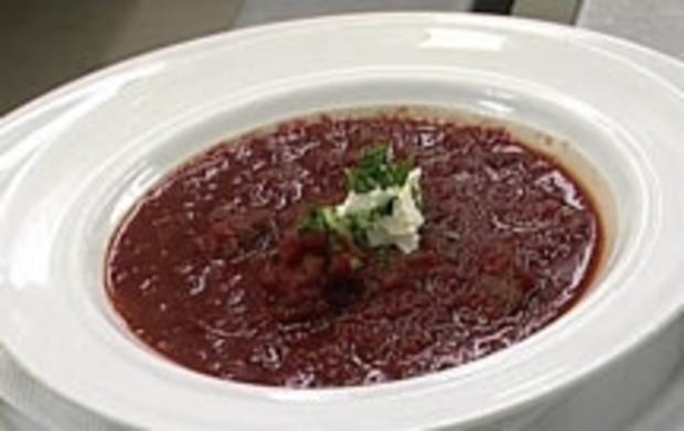 Litauische Rote-Beete-Suppe - Rezept