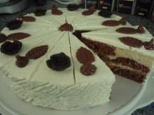 Torte: Rhabarber-Amaretto-Torte - Rezept