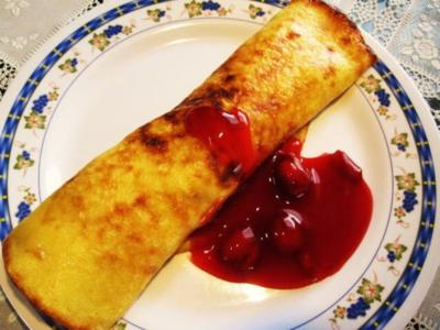 Kirsch-Kompott  -  zu Pfannkuchen oder Waffeln - Rezept - Bild Nr. 5