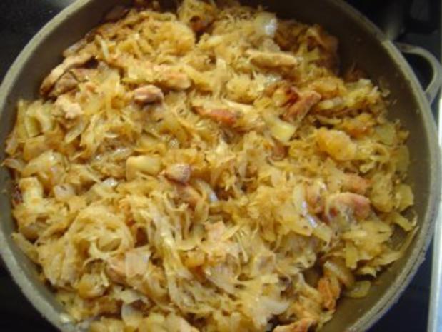 """Sauerkraut-Pfanne für die schlanke """"Linie""""... - Rezept"""