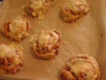 Pizza-Schnecken - Rezept