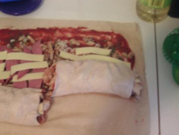 Pizza-Schnecken - Rezept - Bild Nr. 5
