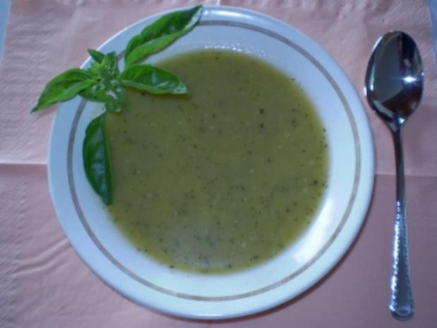 Zucchinisuppe - Rezept