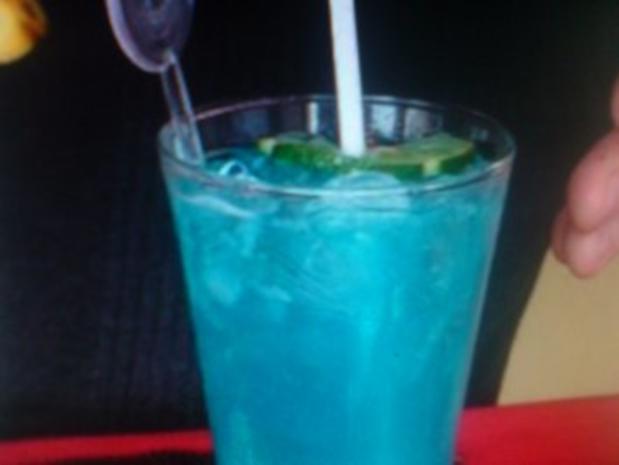 Blue Angel-Cocktail - Rezept
