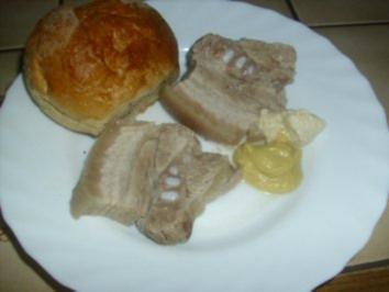 Schweinebauch am Abend - Rezept