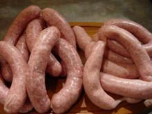 Wurst : frische Bratwurst, grob - Rezept