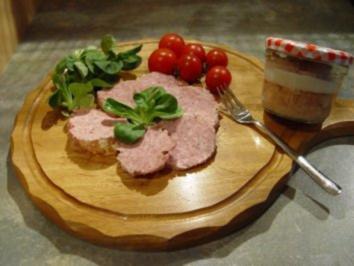 Rezept: Wurst: Schweinemett im Glas
