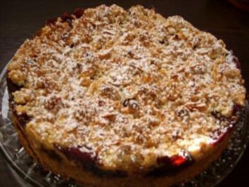 Kirschkuchen Mit Geback Kuchen Und Schokostreuseln Rezepte Kochbar De