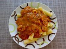Makkaroni mit Champignon-Kräutersauce - Rezept